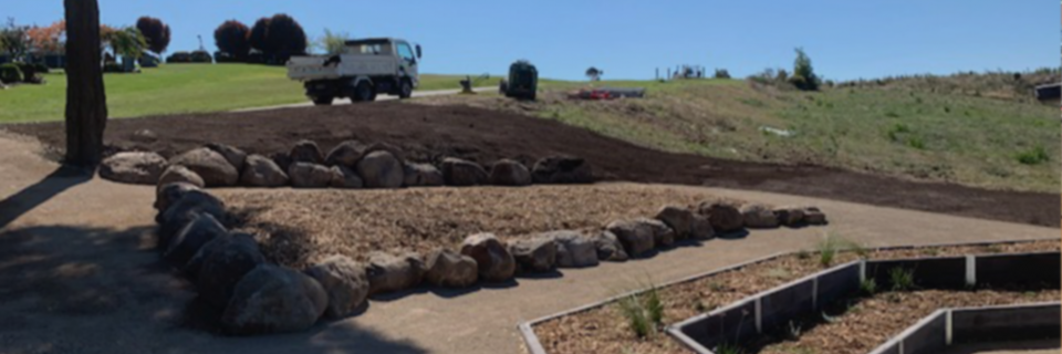 We have provided landscaping services since 2006